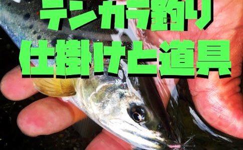 【保存版】テンカラ釣りを始める時に必要な仕掛けや道具を解説します